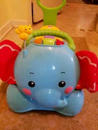 Fisher-Price 3-In-1 Bounce, Stride & Ride Elephant Winter Haven, 33881