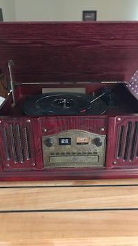 Phonograph with AM/FM and CD player Etna, 43062
