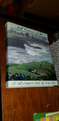 """HUGE Coffee Table Book """"Courses of the PGA Tour"""" Scottsdale, 85251"""
