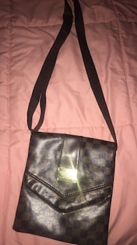black and brown leather crossbody bag North Augusta, 29841
