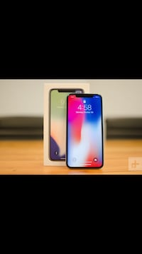 IPhone X (64gb) comes with charger and 1 month warranty Springfield, 22150