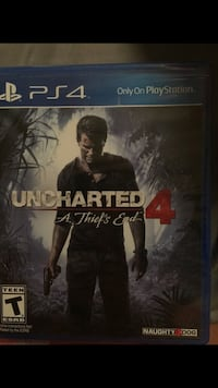 PS4 uncharted 4 a thief end Kapolei, 96707