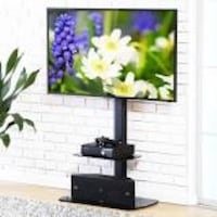 Fitueyes Universal Swivel Floor TV Stand with Mount for 32 to 65 Inches samsung vizio lg TVs TT20700 (NEW IN BOX) 46825