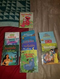 five assorted story books collection 1473 mi