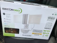 Video Wi-Fi Connected Outdoor Security  LED Flood Light 2000 Lumens