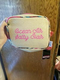 pink and white Victoria's Secret crossbody bag Fayetteville