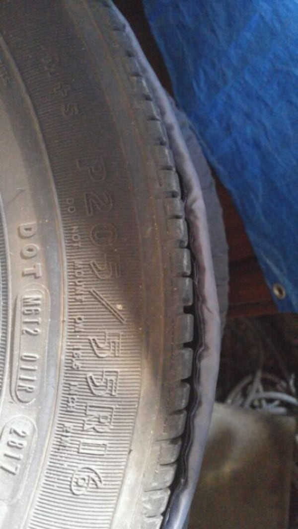 Original Honda civic rims with brand new Goodyear Eagle tires  f03b976f-5e9b-43a2-9d3a-be43e9e3fb5b