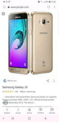screenshot dell'oro Samsung Galaxy J7 Prime Vigalfo, 27010