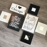 Gallery wall / decor pieces Chicago, 60661