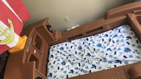 Pirate ship kids bed good condition  Durham, 27703