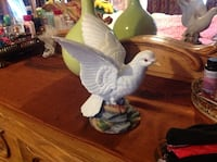 white dove figurine