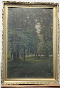 Antique Oil Painting L8H 2Y3