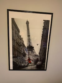 Photograph with frame Paris Eiffel Tower Picture Toronto, M9M 0B9