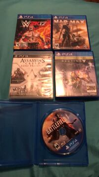 Ps4 games for 50 or 10 each