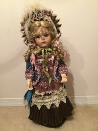 Collectible porcelain doll. Slidell, 70460