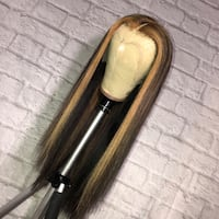 Hand made highlighted wig Pickering