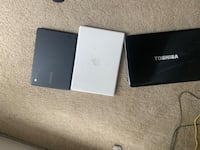 MacBook-75 doesn't work, for parts Chrome book-150 Toshiba-150 Washington