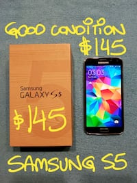 TRADE or$145FIRM SAMSUNG S5 VGood cond+box+charger Pointe-Claire, H9R 1N9
