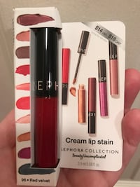 Sephora Cream Lip Stain in Red Velvet McLean, 22102