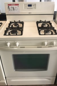 Whirlpool gas stove/ almond color  Reisterstown, 21136