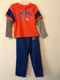 Gen 2, 4T Florida Gators Long Sleeve Outfit  Brandon, 33510