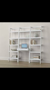 Crate and Barrel Sawyer shelving unit  Toronto, M5P 2J7