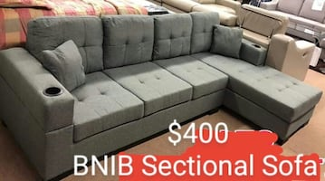 Reversible Sectional (Grey)