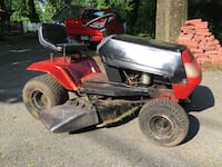 REDUCED AGAIN !!!   $200 Red and black ride on lawn mower Waynesboro, 17268