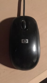 Black hp corded computer mouse Cambridge, N1R 6Z5