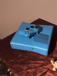 blue and black Xbox One console Edmonton, T6B 0S3