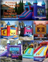 Bounce house and inflatables rental Houston