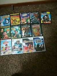 Game cube games and Nintendo Wii games