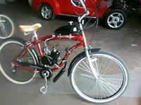 red and black motorized bicycle Mesa, 85201