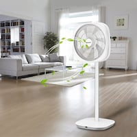 Energy Saving 3D Oscillation DC Stand Fan with Remote Control 方塔纳