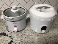 Rice cooker and slow cooker / crock pot Richmond Hill, 31324