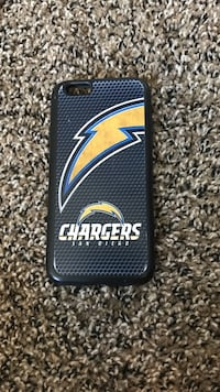 Chargers printed iPhone case