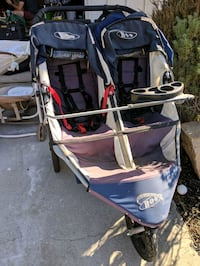 baby's blue and gray twin stroller San Diego, 92128