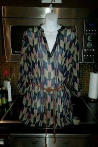 women's multicolored dress Etobicoke, M8Y 0B6