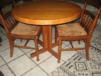 ROUND TABLE  AND  2 CHAIRS SAVANNAH