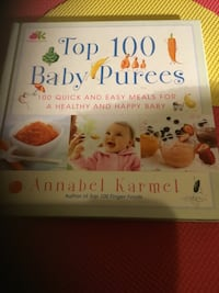 Baby Purée recipe book MINT CONDITION  Toronto, M5R 1V3