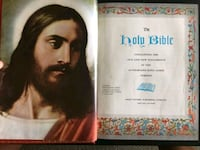 1960 Vintage Large Bible KJV Guiding Light Edition Calgary, T2R 0S8