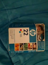 HP 22 Tri-colour inkjet print cartridge