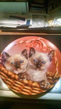 Bradford Exchange Kitten Collector Plate Centreville, 20120