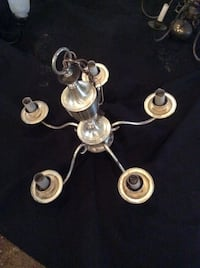 Silver plated Chandelier  65 km