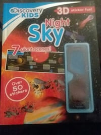 Night Sky Sticker Book Las Vegas, 89119