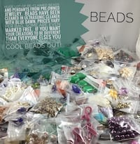 Packages of reclaimed (cleaned) and new beads. Prices vary per baggie.  See pics, more available. Chesapeake, 23320
