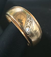 10K solid gold ring  Surrey, V3V 2R3