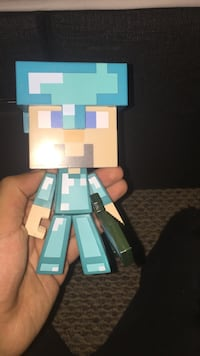 Steve with diamond armor figure Ottawa, K1T 0B5