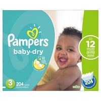 Pampers Baby Dry Size 3 Markham