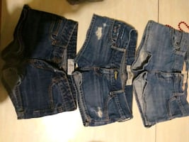 Name Brand Jean Shorts